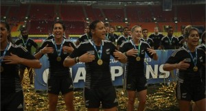 New Zealand Women's Rugby World Cup 7s Champions