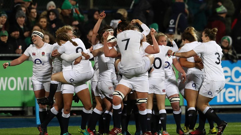 Red Roses secure Grand Slam with Ireland win