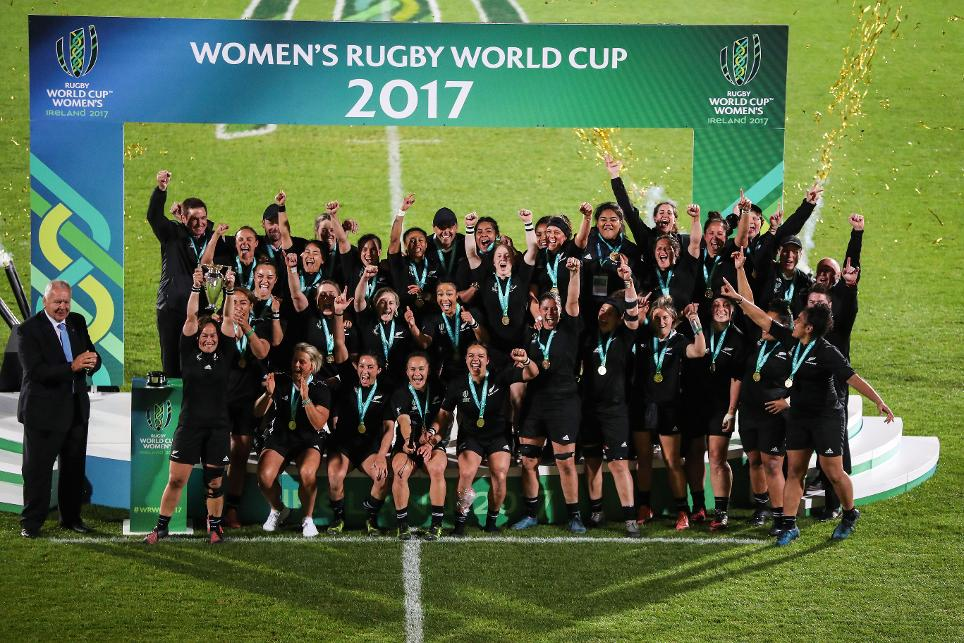 New Zealand Wins 2017 Women's Rugby World Cup