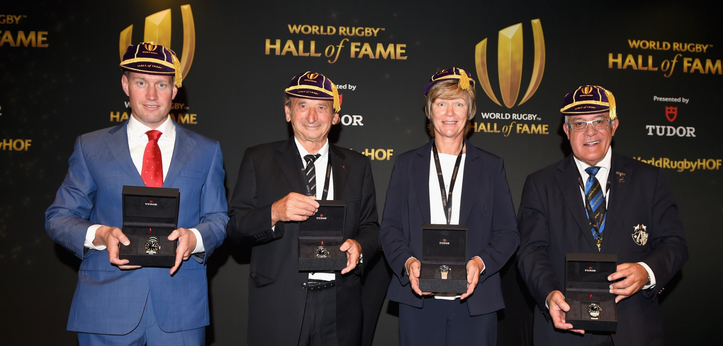 2018 World Rugby Hall of Fame Inductees