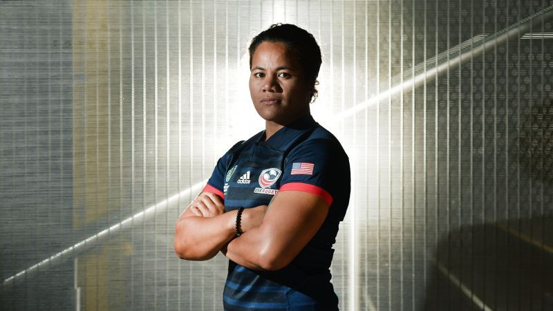 Tiffany Faaee, first woman to coach men's professional rugby in U.S.