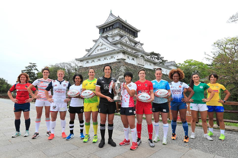 All 12 squads have been announced for the inaugural HSBC Kitakyushu Sevens, round four of the HSBC World Rugby Women's Sevens Series 2016-17.