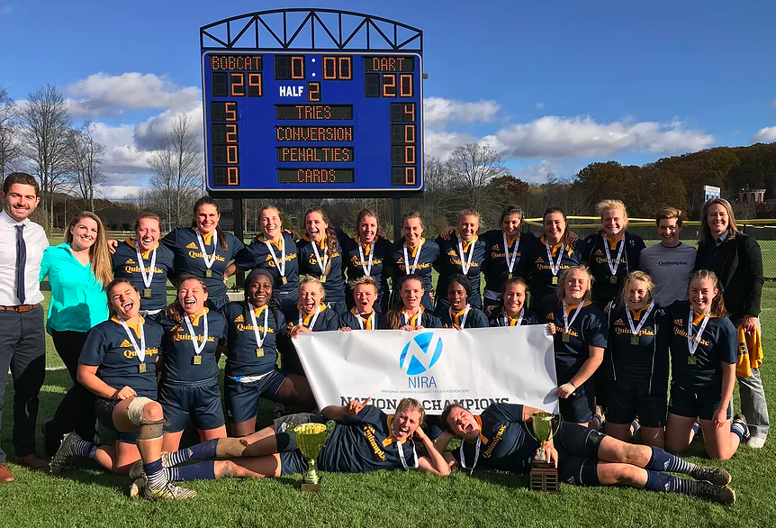 QU Captures 3rd NIRA Rugby Championship