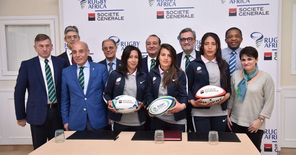 Société Générale sign two year partnership agreement with Rugby Africa