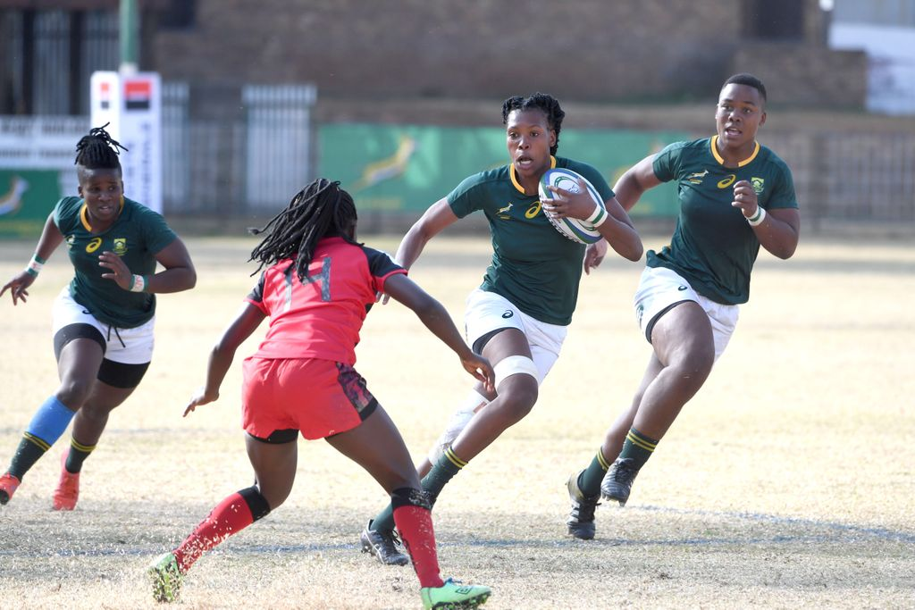 South Africa defeated Uganda in the 2019 Rugby Africa Cup
