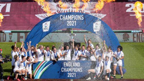 2021 Women's Six Nations Champions - England