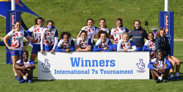 France wins the 2021 International Rugby 7s