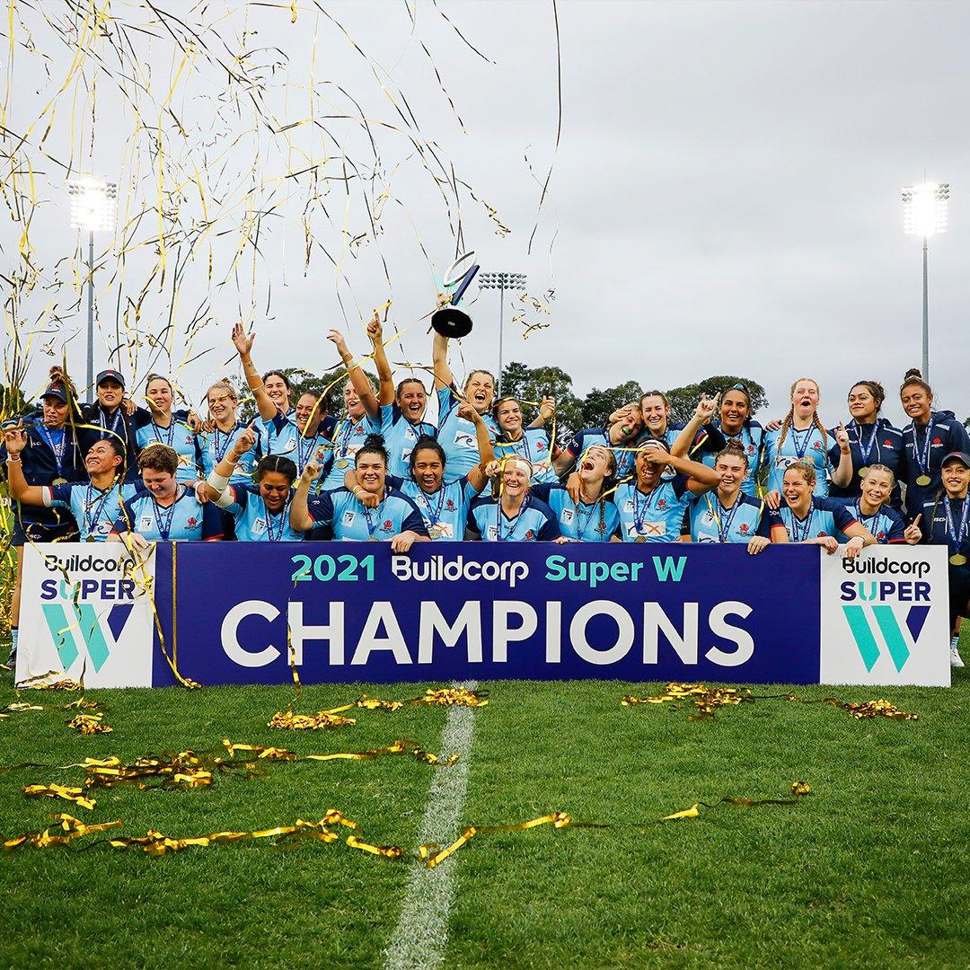 Waratahs - 2021 Super W Champions